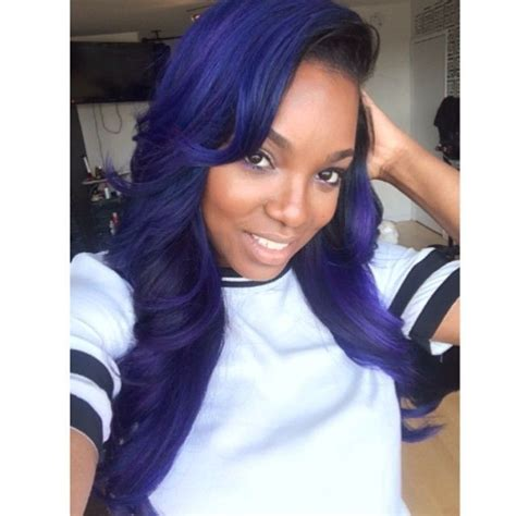black women hairstyles sewing color purple tiarramonet tiarramonet loose waves straight hair and