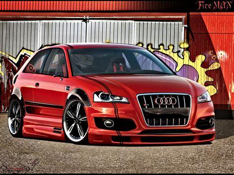 Audi Tuning by Audi A3 Sportback Tuning Photoshop Tuning Virtual Tuning