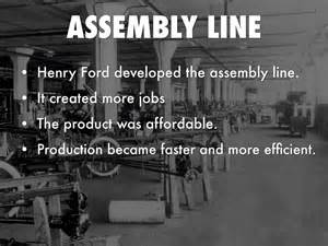 The Assembly Line Henry Ford Essay by Henry Ford By 170583mv