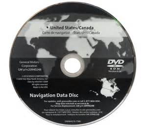 Cadillac Navigation Disc New Gmc Chevrolet Chevy Cadillac Navigation Gps Nav Map