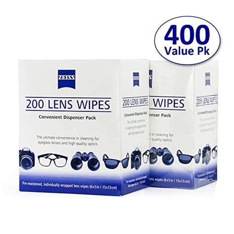 zeiss pre moistened lens cleaning wipes eyeglass sunglass
