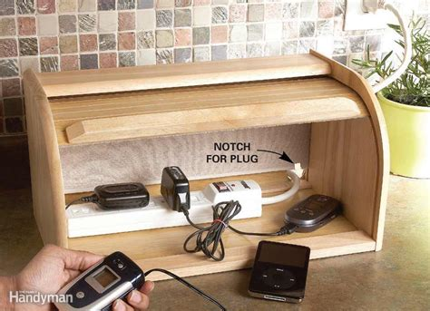 create a charging station 19 brilliant storage solutions for the kitchen