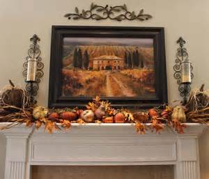 room mantle living room fall mantle
