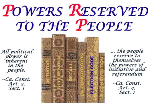 exle of reserved powers vocabulary project