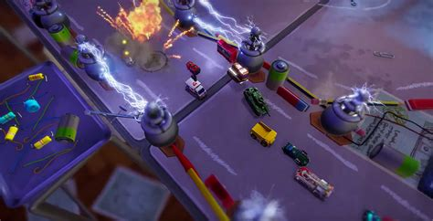 Micro Machines World Series Ps4 codemasters aims to resurrect its tiny car racing series with micro machines world series