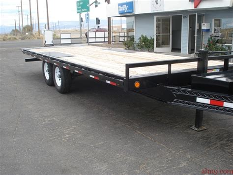 tilt bed trailers american loan masters trailer dealership deck over tilt