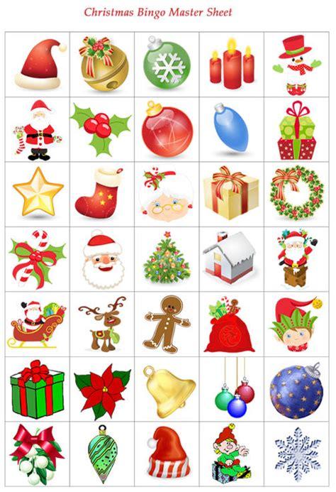 printable christmas icons christmas bingo printable christmas tree farm
