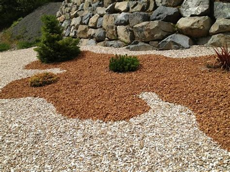 colored rocks for garden landscaping rock colors different textures and variety of