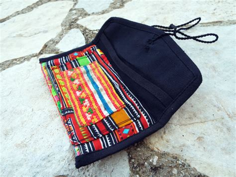 Handmade Tobacco Pouch - tobacco pouch cotton handmade fabric pocket