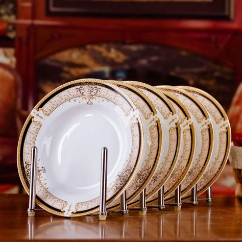 dining room plate sets ᗕ6pcs set american dining room ceramic 169 tableware