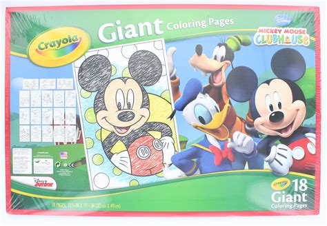crayola giant coloring pages mickey mouse giant coloring pages mickey murderthestout