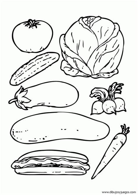 imagenes para colorear verduras y frutas dibujo de verduras 002 dibujos y juegos para pintar y
