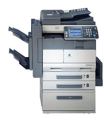 Mesin Fotocopy Bizhub cara reset error mesin fotocopy bizhub 250 konica minolta