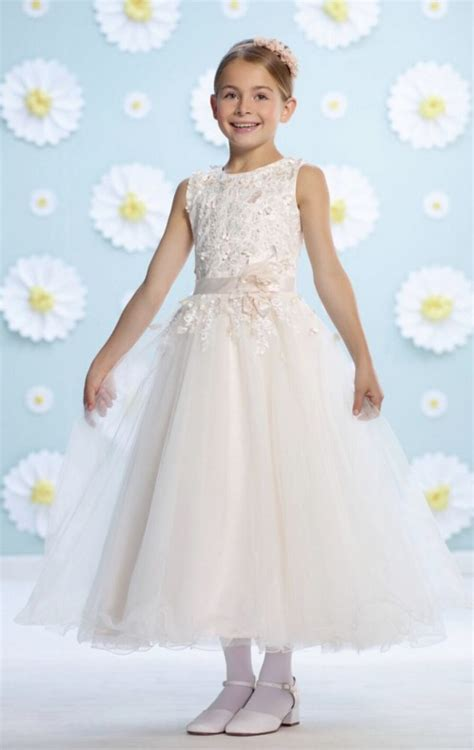 design flower girl dress online joan calabrese for mon cheri flower girl dresses modwedding