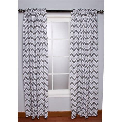 grey zig zag curtains bacati ikat zigzag grey curtain panel walmart com
