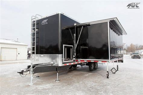 room 13 trailer atc fold out extension room mo great dane trailers