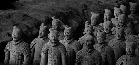 Digitec Army Blackwhite terracotta infantry a black and white conversion of an ear flickr