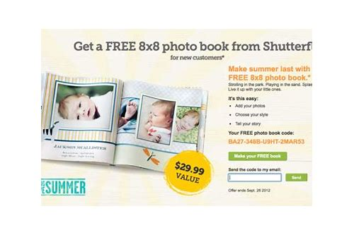 free shutterfly photo book coupon code 2018