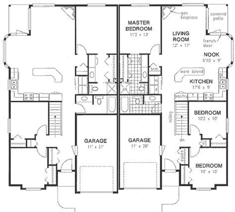 multi family plan 48066 at familyhomeplans com multi family plan 58770 at familyhomeplans com