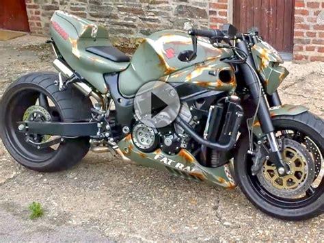 Yamaha Motorrad Treffen 2018 by Suzuki Hayabusa Streetfighter Rat Mega Hammer Umbau