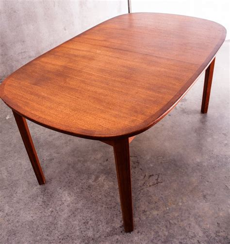 modern mid century solid quot wood dining table quot kitchen vintage mid century danish modern solid teak dining table