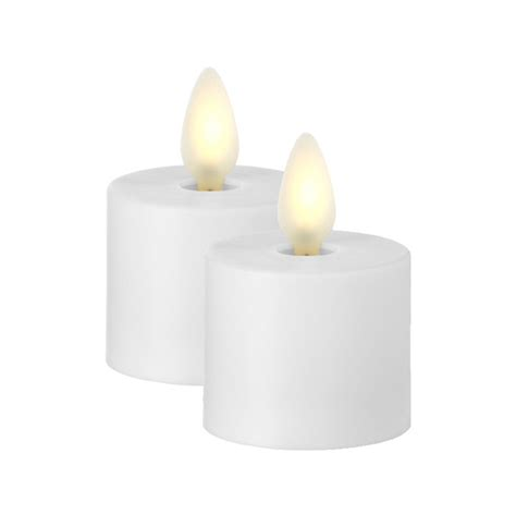 moving tea light candles liown moving white tealights set of 2 with timer