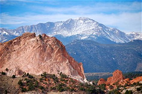 Garden Of The Gods Lookout Distance And Driving Directions From Colorado Springs To