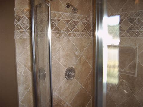 photos of tiled shower stalls photos gallery custom bath remodel travertine tile in shower stall bath