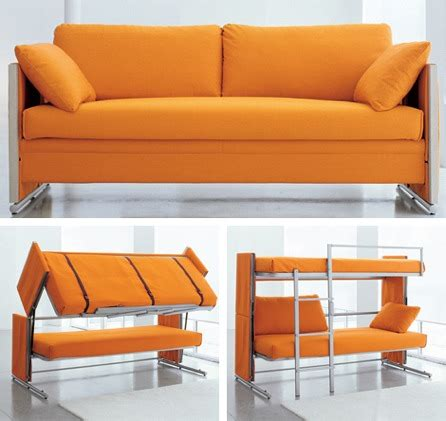 sofa bunk bed sofa converts to bunk beds craziest gadgets