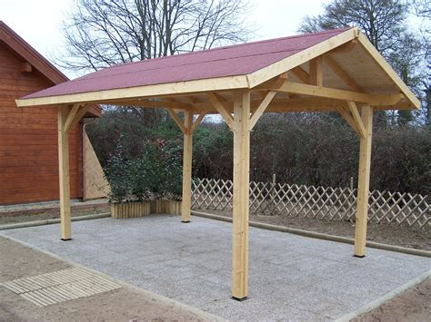 Carport Structure by Carports Space Wood