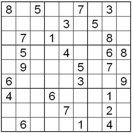 printable sudoku puzzles level 1 of 8 normal level sudoku puzzle one what2learn