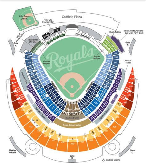 royal stadium seating chart sports empire sports and special event travel packages