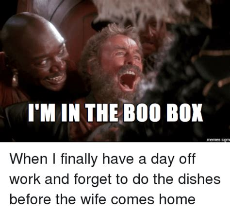 Do You Boo Boo Meme - i m in the boo box memes com when i finally have a day off