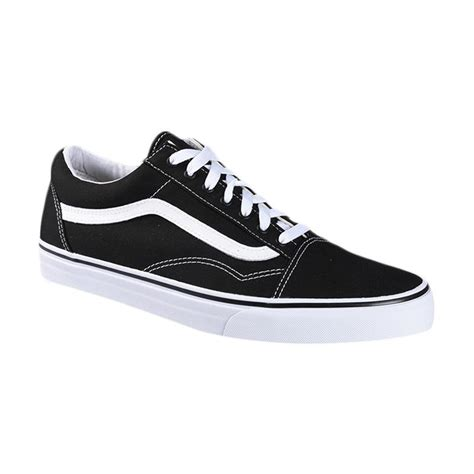 blibli vans jual vans u old skool canvas sneaker shoes black true