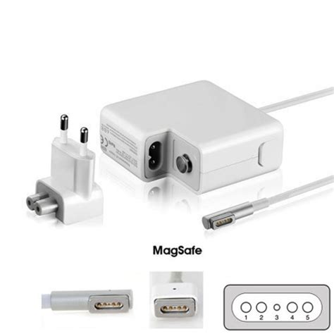 apple alimentatore alimentatore per apple macbook air a1369 a1370 dca2551a