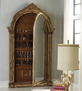 Floor Jewelry Armoire With Mirror Furniture Accessories Vera Floor Mirror W Jewelry