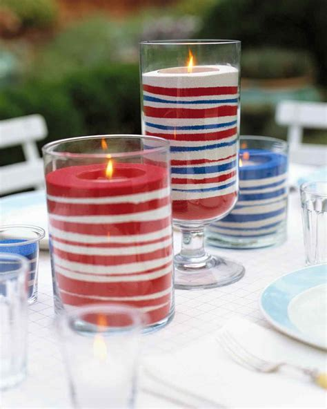 wedding centerpieces with candles and sand easy sand candles martha stewart