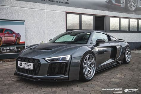 official prior design audi r8 v10 widebody gtspirit