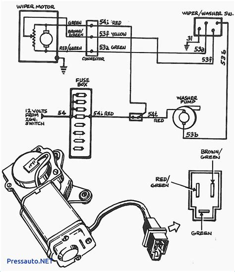 bosch wiper motor wiring diagram wiring diagram with