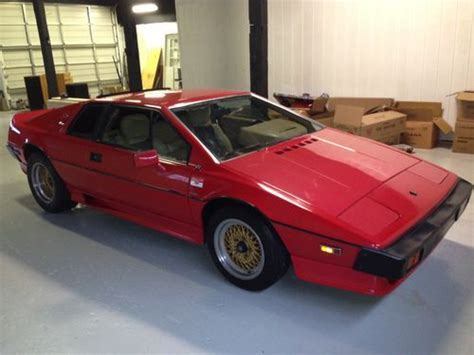find used 1987 lotus esprit turbo hci 29000miles great running condition totally gone over in