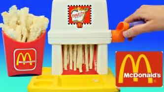 mcdonalds happy meal magic fry maker playset