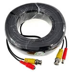 Kabel Cctv Audio Power 15 Meter 5 10 15 20 30 40 50m kombikabel bnc kabel cctv