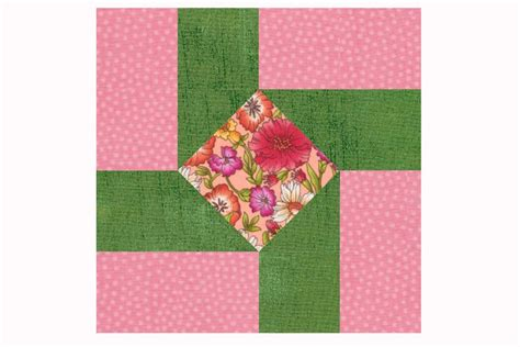Free Patchwork Blocks - susannah an easy patchwork quilt block pattern