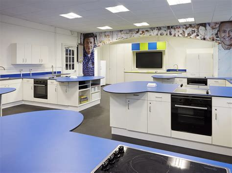 School Kitchen Design Food Technology Classroom Design To Get Boys Cooking Envoplan