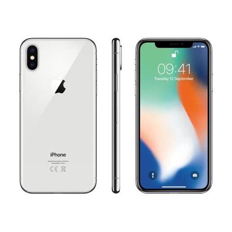 apple iphone 8 plus argent 256go achat smartphone pas cher avis et meilleur prix cdiscount