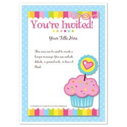 more views invite template you re invited invitations cakes cute corner prints cakes by post monthly 11 on cakes by post monthly
