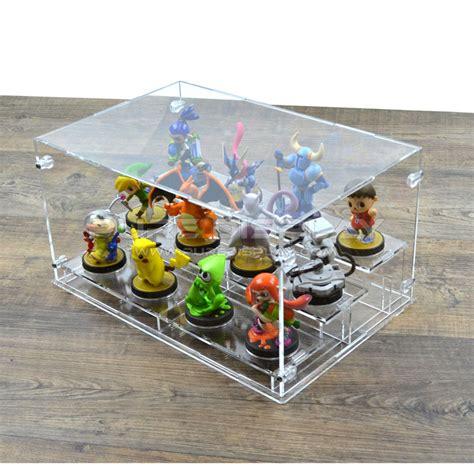 Amiibo Clear Display display for 12 nintendo amiibo figures