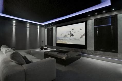 Cinema Room Mediacube Modern Home Theater Manchester Uk By