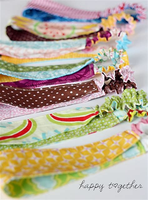 Handmade Fabric Headbands - how to sided fabric headband make handmade