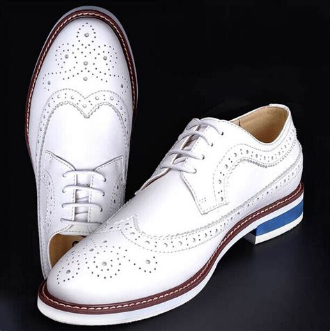 high quality white s wedding groom shoes mens shiny